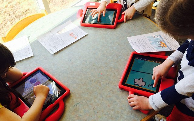 technology to boost vocabulary