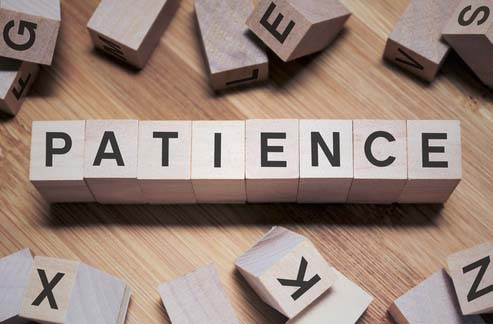 tutor patience